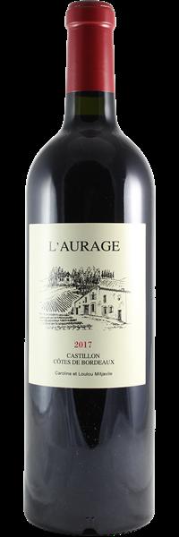 Domaine de l'Aurage Côtes de Bordeaux Castillon 2017