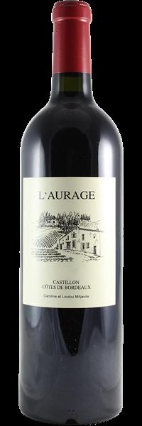 Domaine de l'Aurage Côtes de Bordeaux Castillon 2018