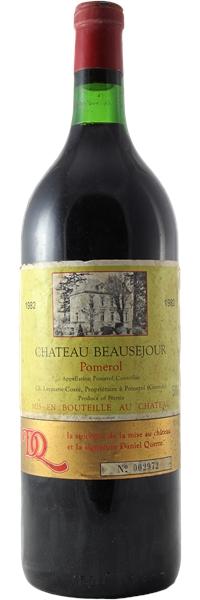 Château Beauséjour Saint-Emilion Grand Cru MAGNUM 1982