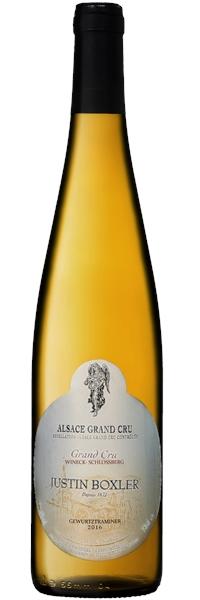 Alsace grand cru Wineck-Schlossberg Gewurztraminer 2016