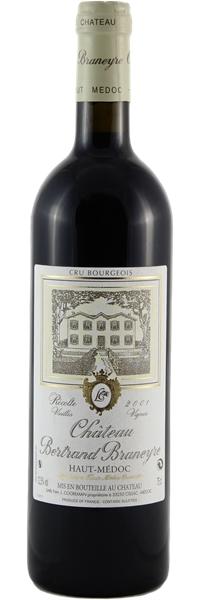 Château Bertrand Braneyre Vieilles Vignes 2001
