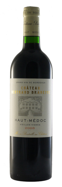Château Bertrand Braneyre Vieilles Vignes 2008