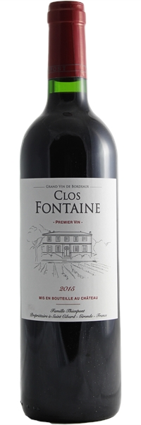 Château Clos Fontaine 2015