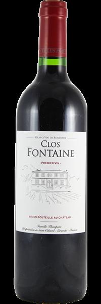 Château Clos Fontaine 2018