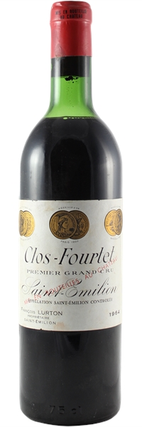 Clos Fourtet Saint-Emilion Grand Cru 1964