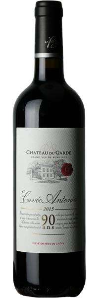 Château du Garde Côtes de Bordeaux Cuvée Antonio 2015