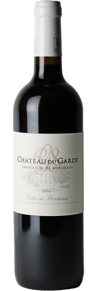 Château du Garde Côtes de Bordeaux 2016
