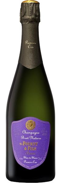 Champagne premier cru Blanc de Blancs Brut Nature Vertus