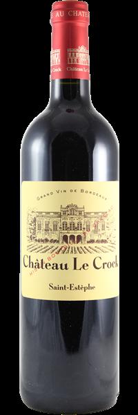 Château le Crock Cru Bourgeois 2018
