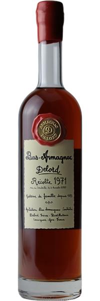 Bas-Armagnac Coffret Bois 1971