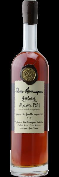Bas-Armagnac Coffret Bois 1981