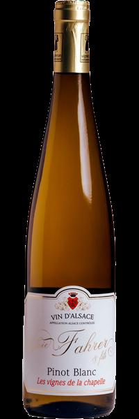 Alsace Les Vignes de la Chapelle Pinot Blanc 2019