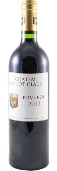 Château Guillot Clauzel 2013