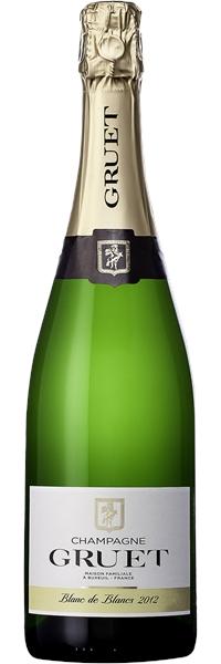 Champagne Blanc de blancs Millésime 2012
