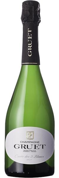 Champagne Brut Cuvée des 3 Blancs