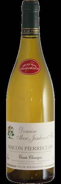 Mâcon Pierreclos Cuvée Classique 2019