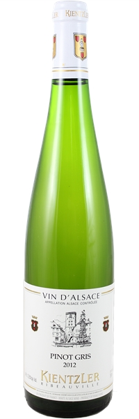 Alsace Pinot Gris 2012