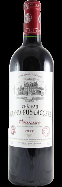 Château Grand-Puy-Lacoste 5ème Grand Cru Classé 2017