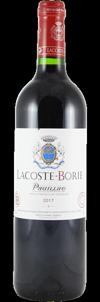 Lacoste-Borie 2017