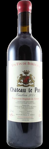 Château le Puy Cuvée Emilien 2004