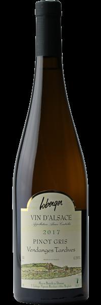 Alsace Pinot Gris Vendanges Tardives 2017