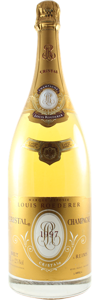 Champagne Cristal MAGNUM 1997