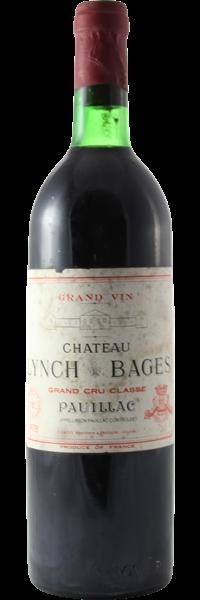 Château Lynch-Bages 1978