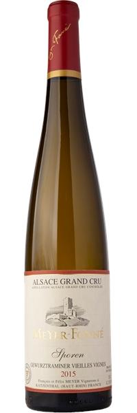 Alsace grand cru Sporen Gewurztraminer Vieilles Vignes 2015
