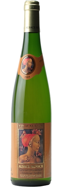Alsace Gewurztraminer Vendanges Tardives 2005