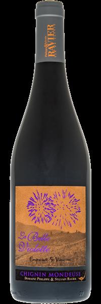 Vin de Savoie Chignin Mondeuse La Belle Violette 2018