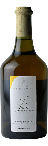 Côtes du Jura Vin Jaune 10 ans de fûts 2005