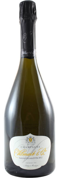 Champagne premier cru Brut Cuvée Grand Cellier d'Or 2012