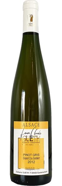 Alsace Douceur Pinot Gris Grand Cru Goldert 2012