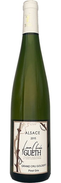 Alsace Douceur Pinot Gris Grand Cru Goldert 2015