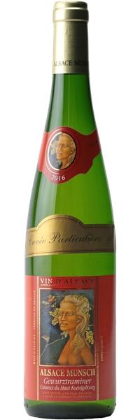 Alsace Gewurztraminer Cuvée Particulière 2016