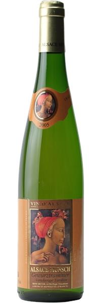 Alsace Gewurztraminer Vendanges Tardives 2005