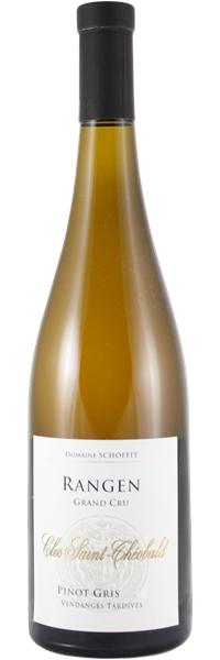 Alsace grand cru Rangen Pinot Gris Clos Saint-Théobald Vendanges Tardives 2007