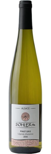 Alsace Pinot Gris Légende d'Automne 2018