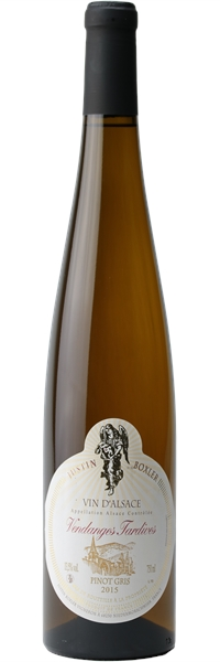 Alsace Vendanges Tardives Pinot Gris 2015