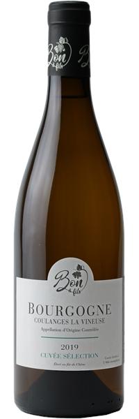 Bourgogne Coulanges-la-Vineuse Cuvée Sélection 2019