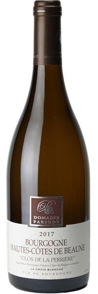 Bourgogne Hautes Côtes de Beaune Clos de la Perrière la Croix Blanche 2017