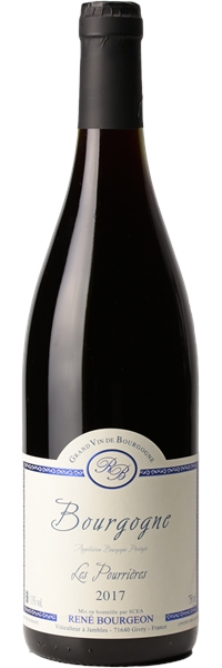 Bourgogne Pinot Noir Les Pourrières 2017