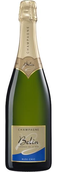 Champagne Bleu Chic