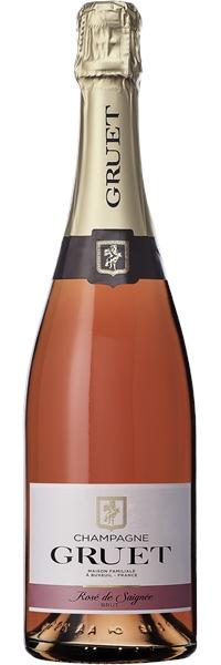 Champagne Brut Rosé de Saignée
