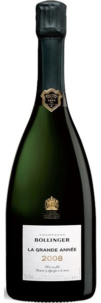 Champagne La Grande Année 2008