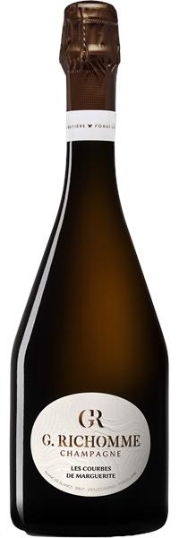 Champagne Les Courbes de Marguerite Blanc de Blancs Brut