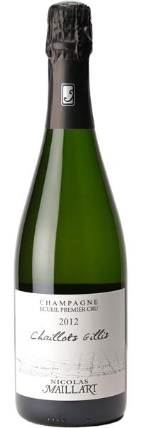 Champagne premier cru Les Chaillots Gillis 2012