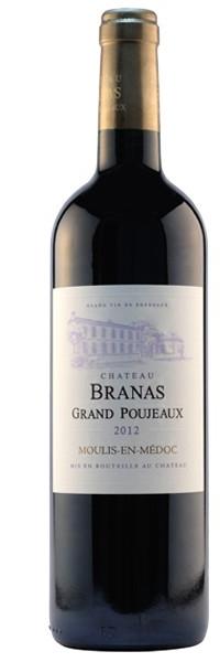 Château Branas Grand Poujeaux 2012