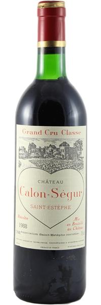 Château Calon Ségur 1988