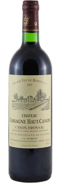 Château Cassagne Haut-Canon 1997